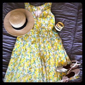 ModCloth lemon dress